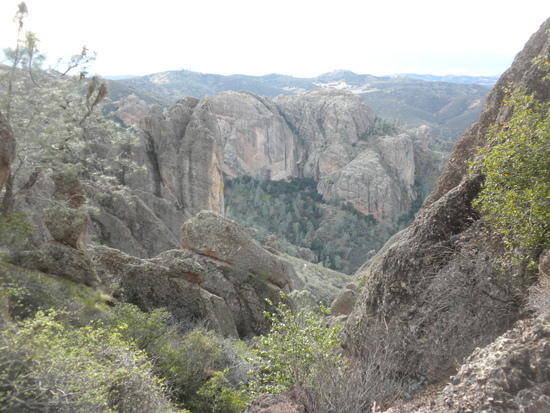 View from the Condor Gulch Trail