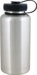 Wide mouth stainless bottle