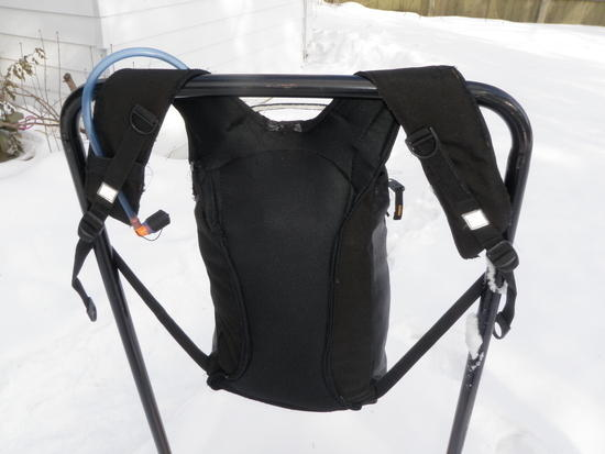 A well padded back panel (comfy!)
