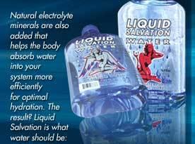 Liquid Salvation water