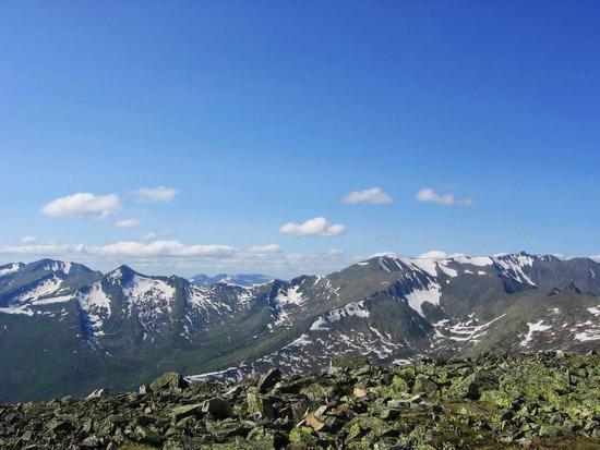 Kuznetsk Alatau ridge