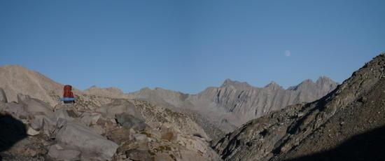 Coming down Muir Pass