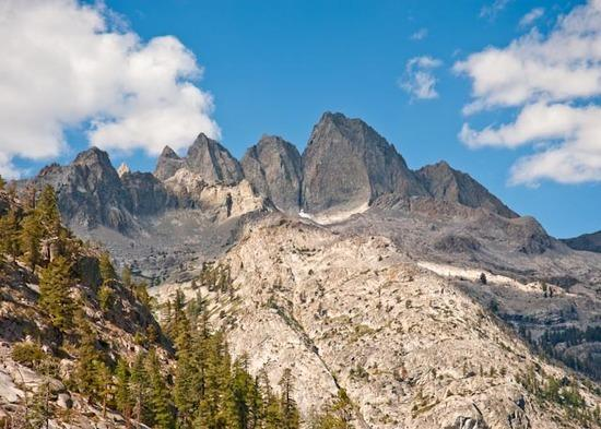 Peaks above LeConte Canyon
