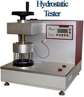 Hydrostatic Head Tester