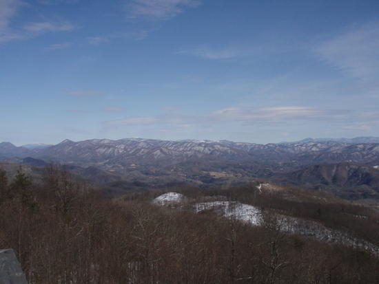 View from Rich Mountain FT