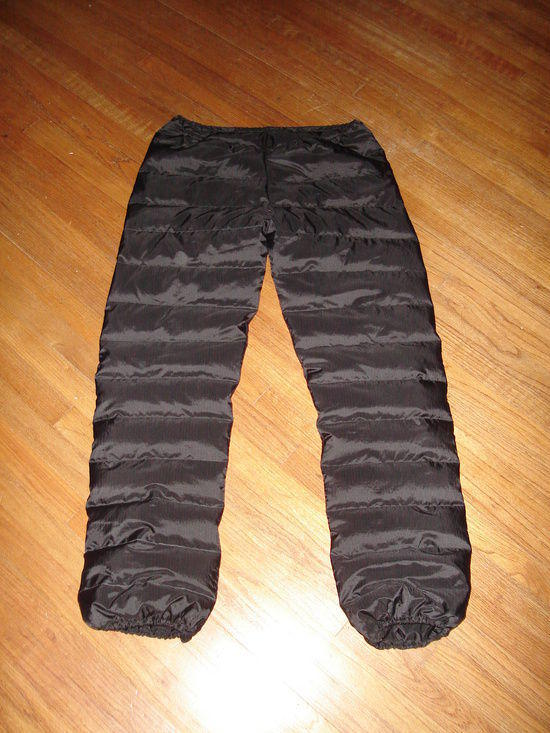 Greene down pants