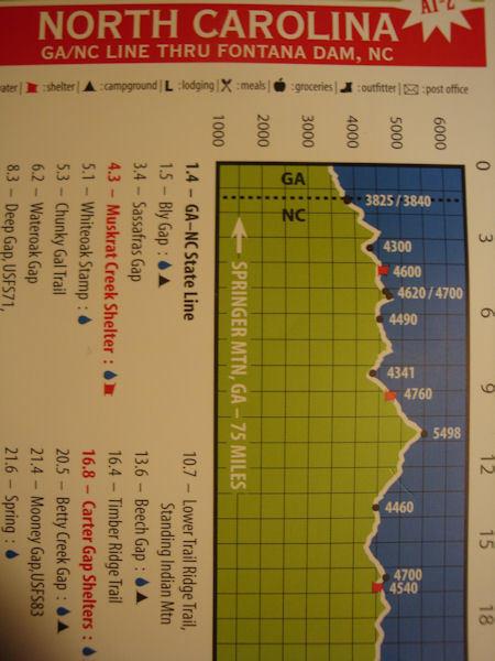 profile map graphic