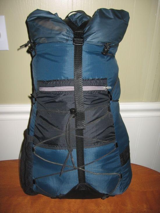 Guy Bouchard's backpack