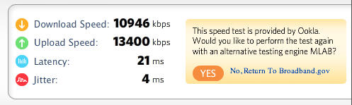 Test Your Internet Connection Speeds - Backpacking Light