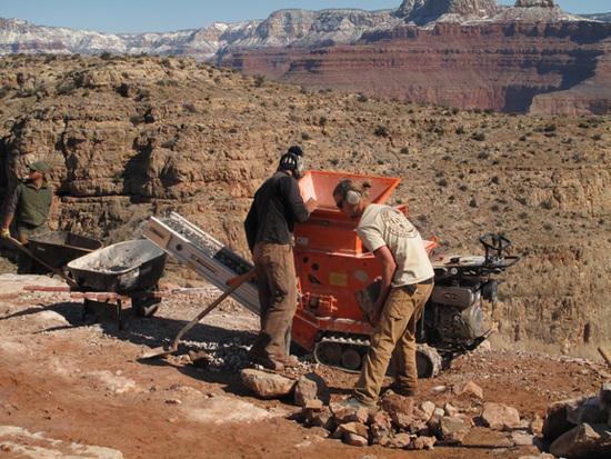 Trail Building Grinder