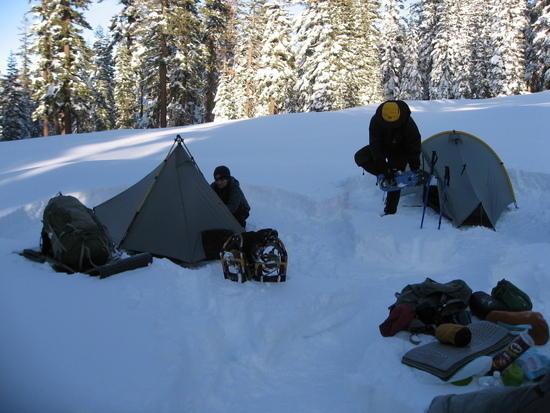 Breaking Down Camp