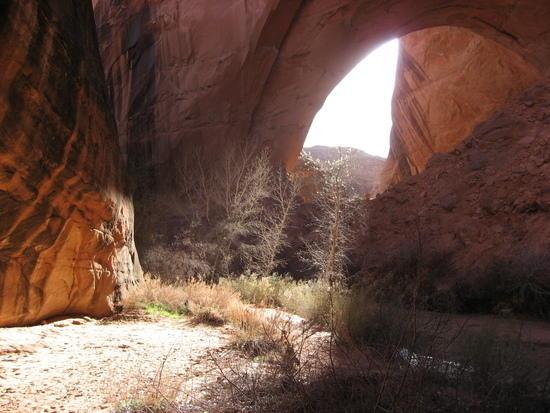 Jacob Hamblin Arch, Coyote Gulch