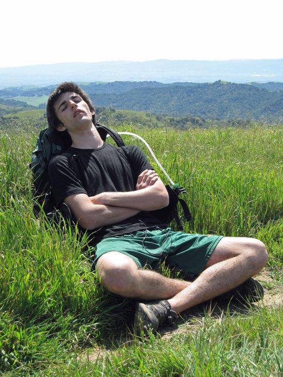 Ben Resting Up