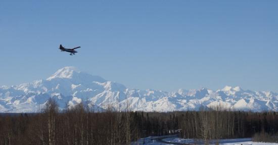 Denali and bush plane