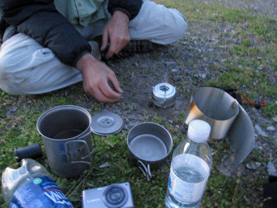 Feather Fire Alcohol Stove