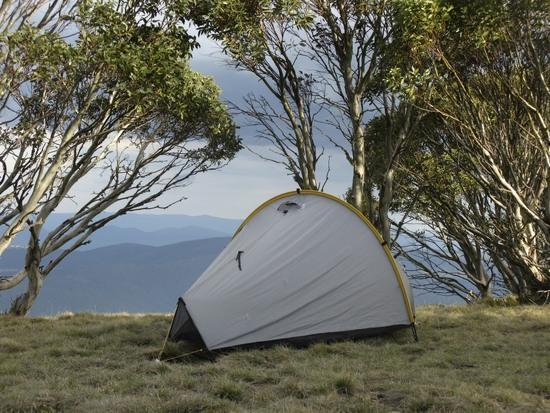 Campsite on Mount Wills, Victoria.