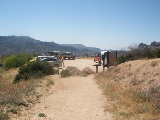 Reavis Ranch Trailhead