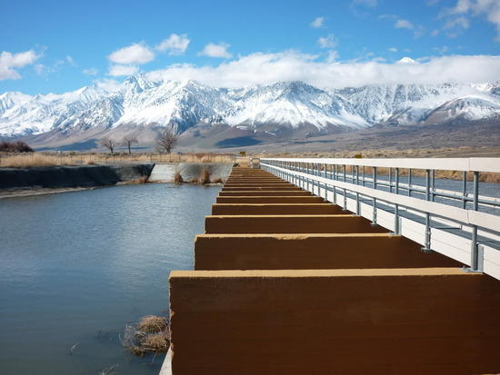 First Intake of the Owens River/LA Aqueduct