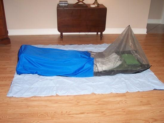 Homemade Meteor Bivy LS full length