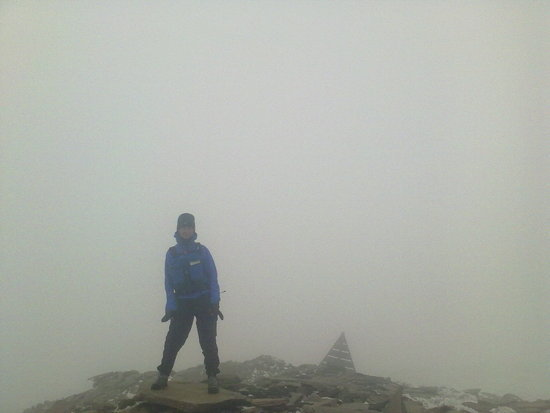 on the summit of Jebel gourza