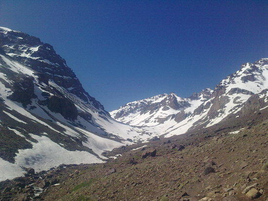 ouanocrim behind Toubkal to the left