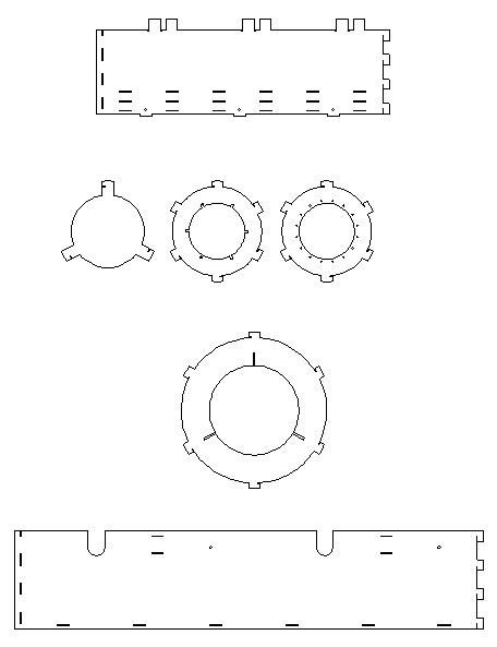 drawing of ti stove parts
