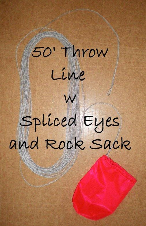 Throw line with Rock Sack