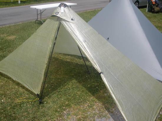 Green Stealth Cuben SoloMid shelter