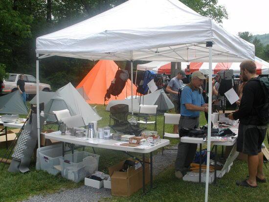 Gossamer Gear Booth