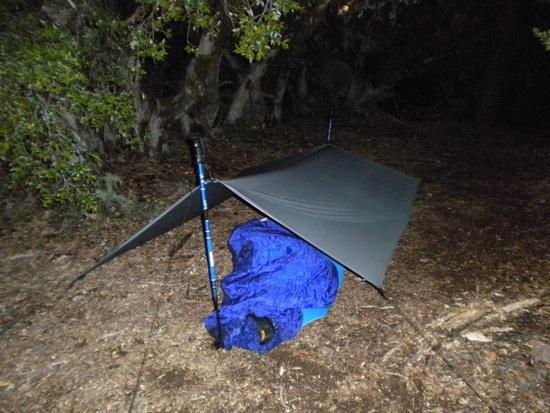 My tarp.
