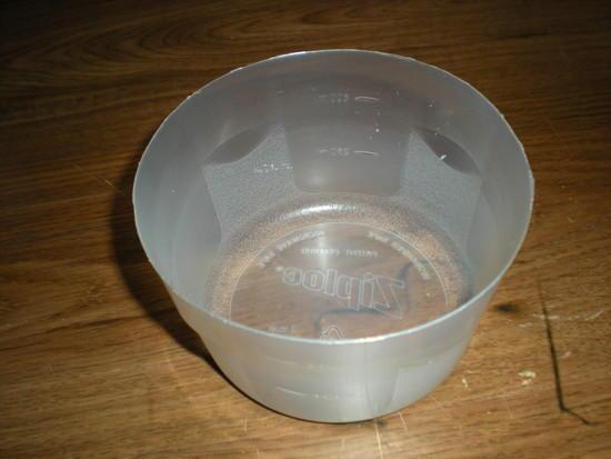 Ziploc bowl