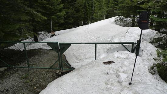 June 1 Sierra snow at 6k ft