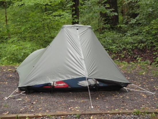 tarp tent at base camp