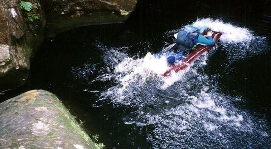 Lilo Jump in Wollangambee