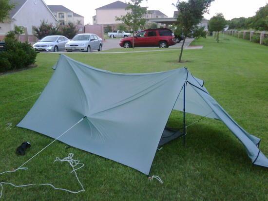 Tent in 25mph wind