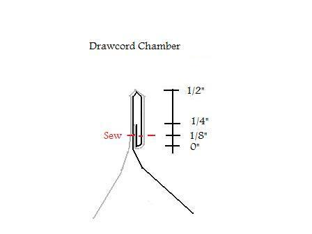 quilt drawcord chamber