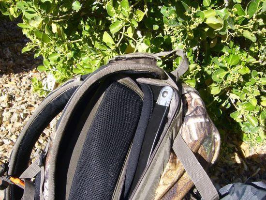 Internal frame & bolt attatchment detail