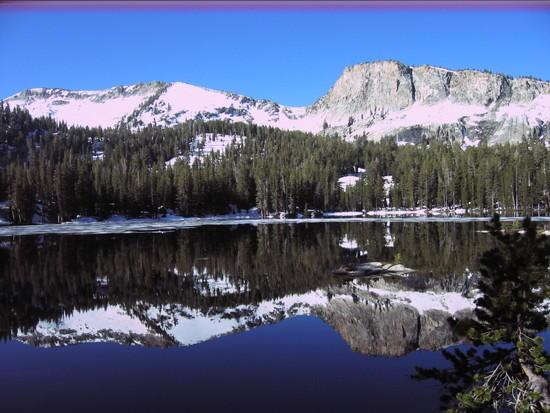 Ten Lakes reflection