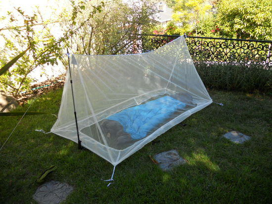 Mosquito net with bag