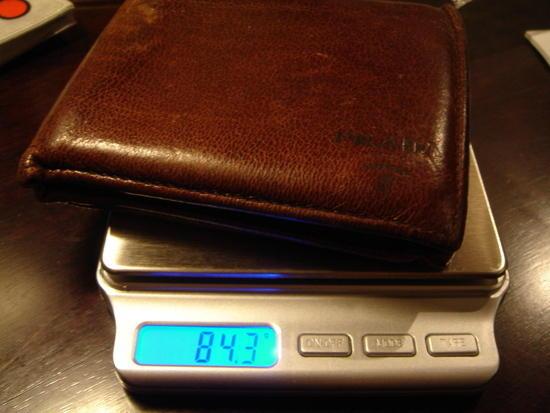 deer leather wallet