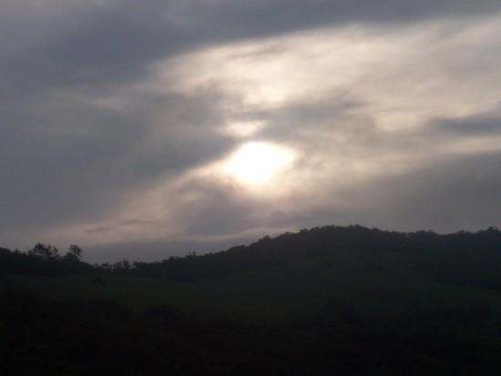 Sunrise at Overmountain Shelter