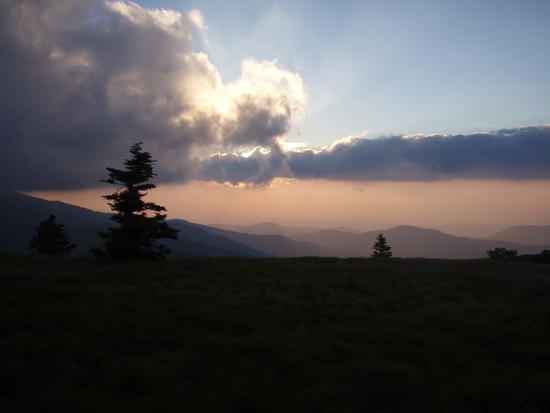 Grassy Knob Sunset 1