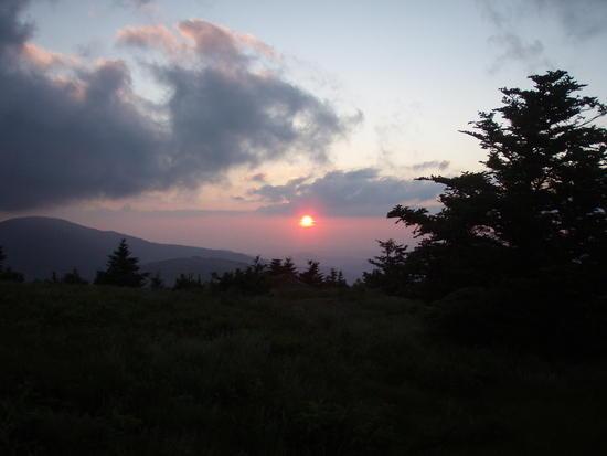 Grassy Knob Sunset 2