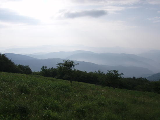 View from Little Hump Mountain