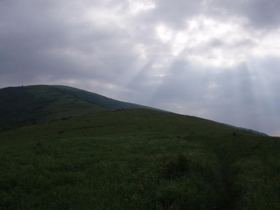 Sun's Rays from Little Hump