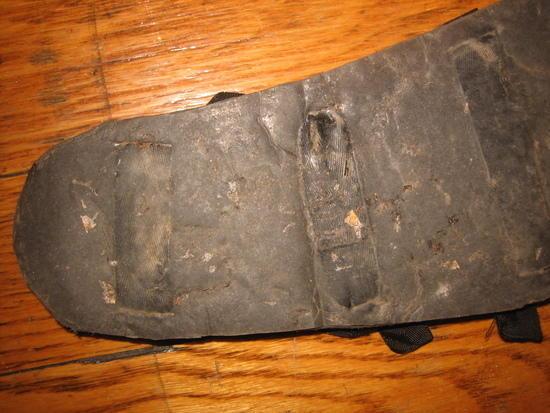 Shoe-Goo sandal tread