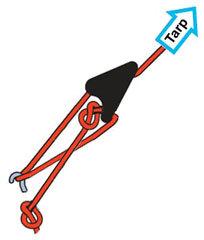 Cam lock tensioner