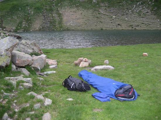 Lac de Peyreget camp