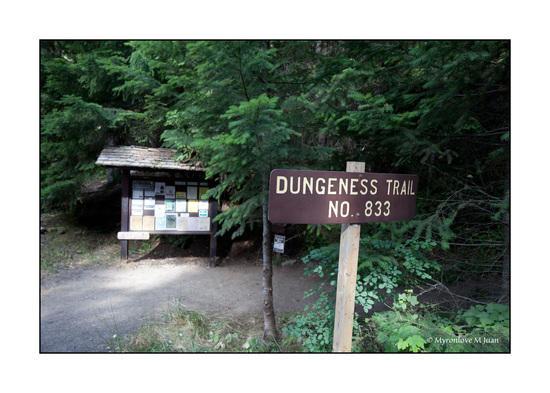Dungeness Creek Trailhead