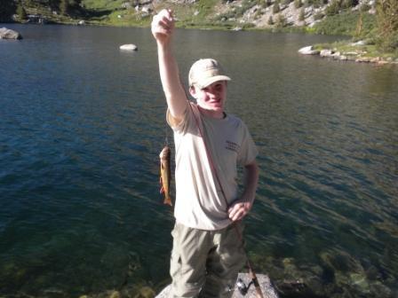 Connor Fish Rae Lake